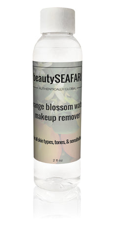 Orange Blossom Water Makeup Remover