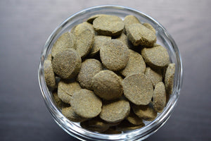 SPIRULINA WAFER,VEGGIE WAFER ABF27