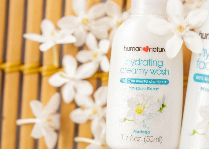 Hydrating Creamy Face Wash with Moringa