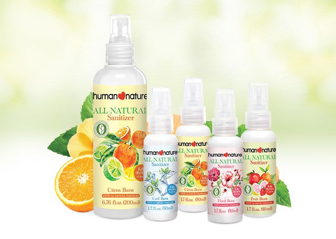All-Natural Spray Sanitizers