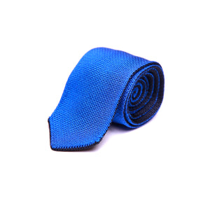 Reversible Silk Knit Tie