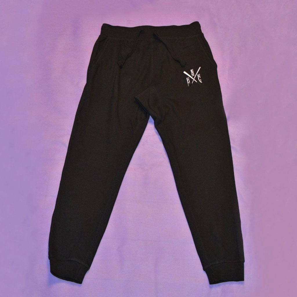 Taiaha Drop Crotch Track Pants