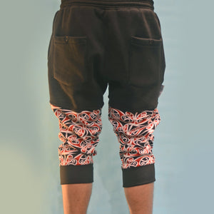 Mangopare Drop Crotch Quarter Pants