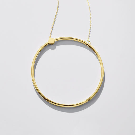 Contour necklace - Gold