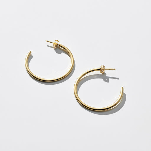 Astray Hoop Earrings - Gold