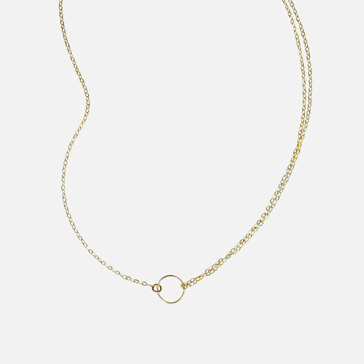 Moon Chaser necklace - Gold