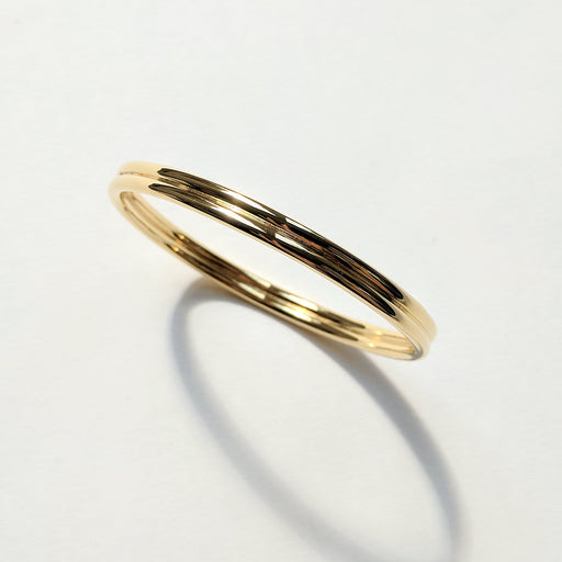 Back to Back bangle - Gold
