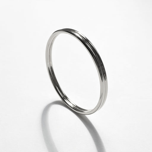 Back to Back bangle - Silver