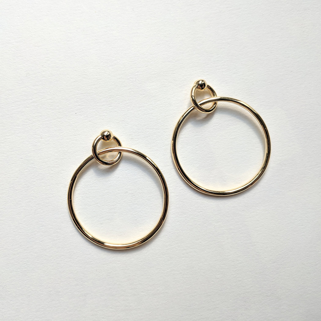 Release earrings - Gold