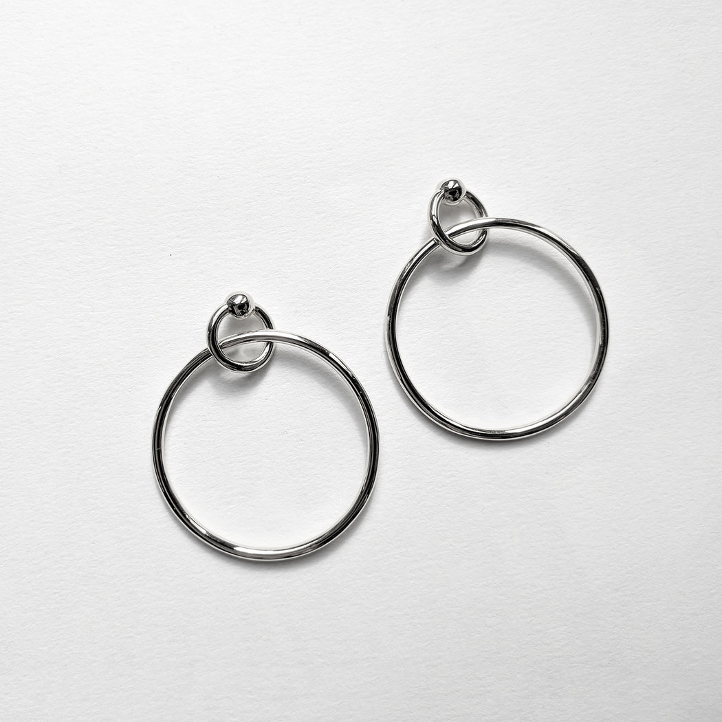 Releasing earrings - Silver