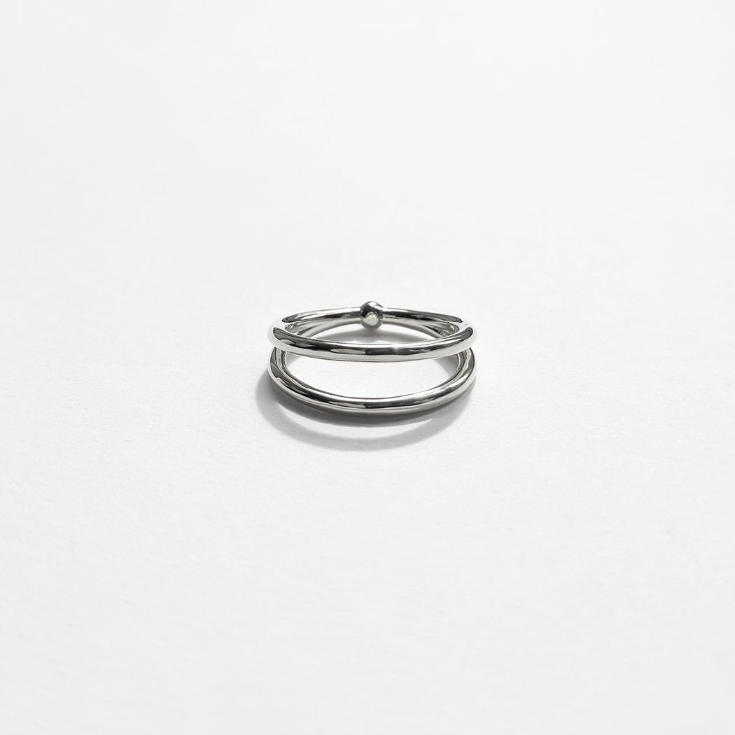 The Split ring - Silver