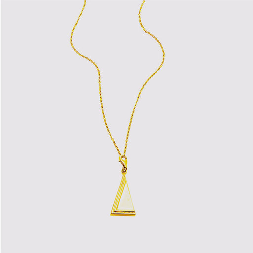 Two Moments necklace - Gold