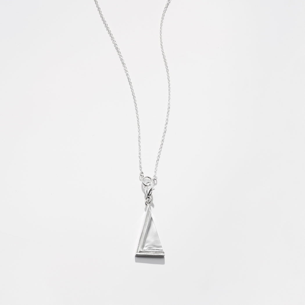 Two Moments necklace - Silver