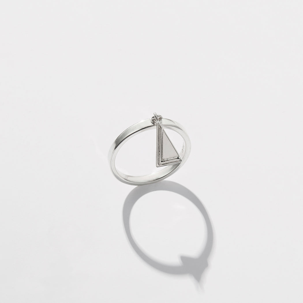 Two Moments Ring - Silver
