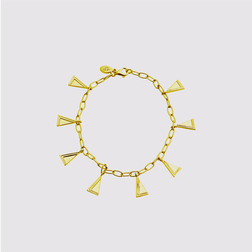 Two Moments Bracelet - Gold