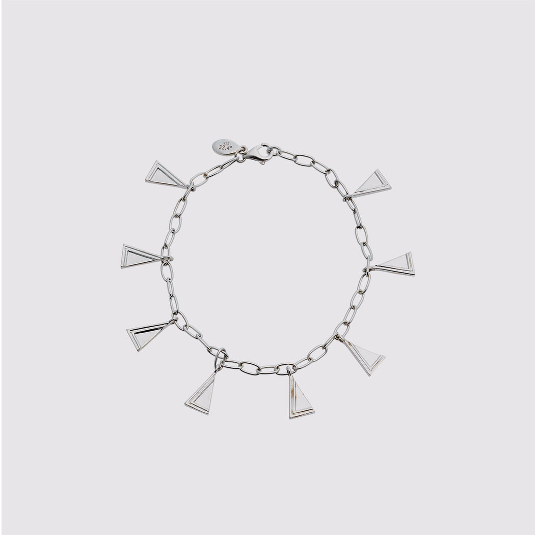 Two Moments Bracelet - Silver