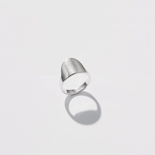 With One Step Ring - Silver
