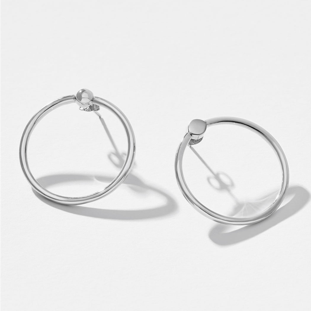 Imminent Earrings 02 - Silver