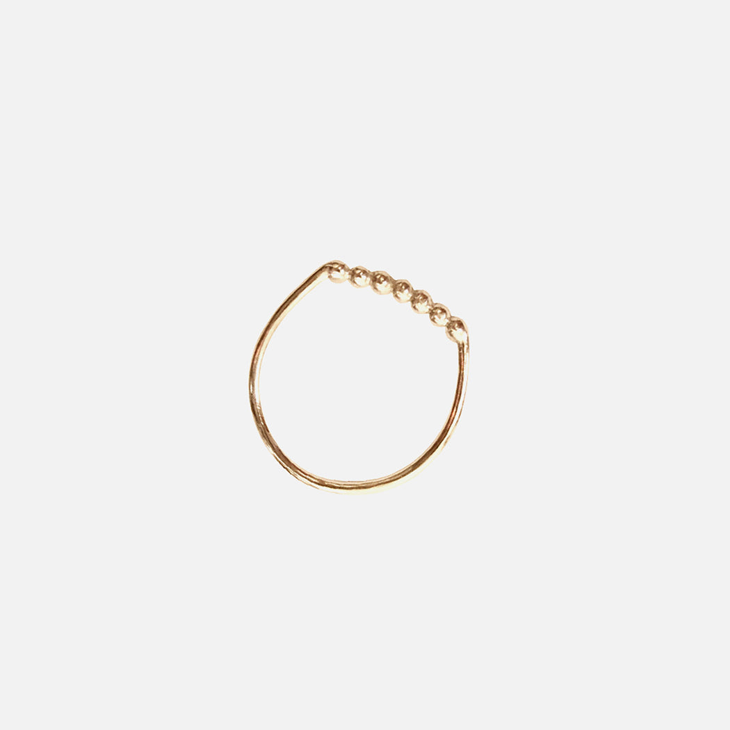 Lucky Seven ring - Solid Gold