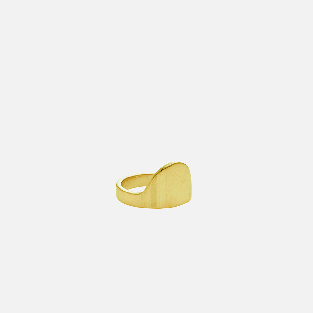 With One Step Ring - Gold