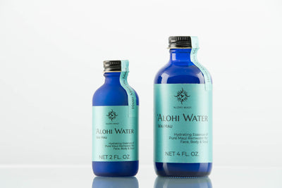 Alohi Maui Rainwater Hydrating Essence Refill Bottles 2oz and 4oz Size