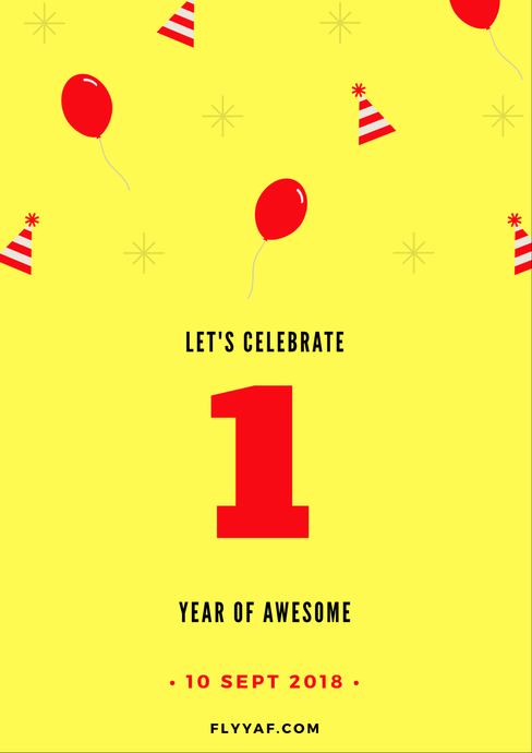 We've Turned 1!
