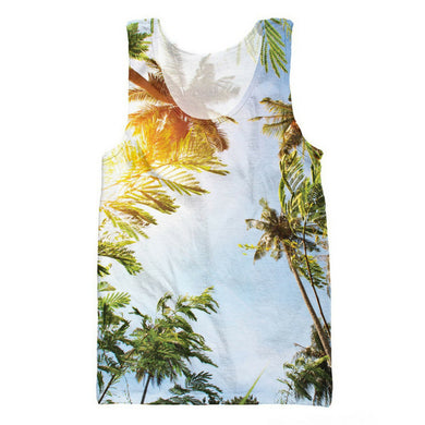 Coconut Palm Trees 3D Tank