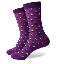 Load image into Gallery viewer, Multi-Colored Pattern Socks