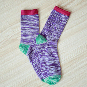 5-Pack Colorful Crew Socks