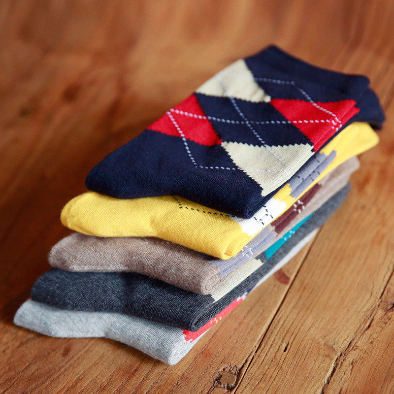 5-Pack Argyle Socks