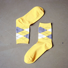 Load image into Gallery viewer, 5-Pack Argyle Socks
