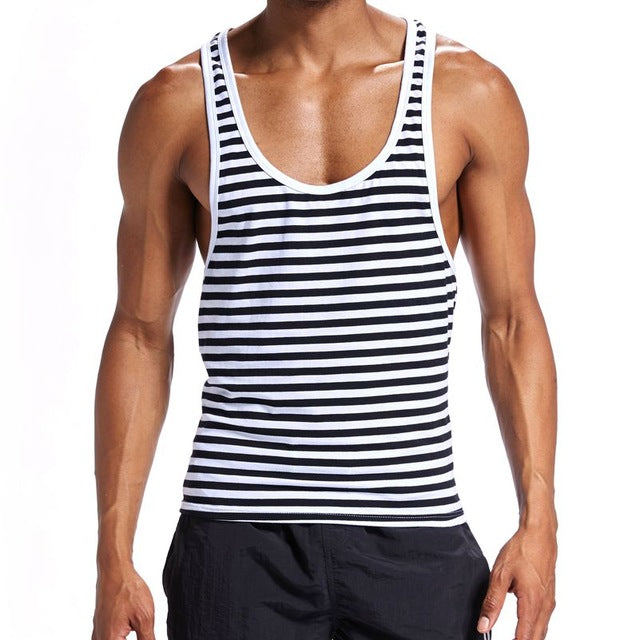 Striped Tight Tank