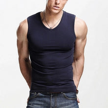 Sleeveless V-Neck Shirt