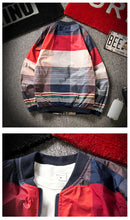 Load image into Gallery viewer, Striped Plaid Jacket
