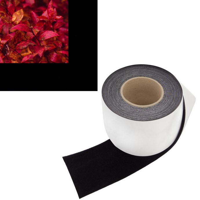 Vibrancy Enhancing Projector Felt Tape Border - 4 in x 30 ft