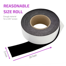 Vibrancy Enhancing Projector Felt Tape Border - 2 in x 30 ft