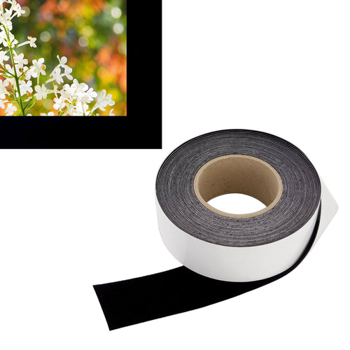 Vibrancy Enhancing Projector Felt Tape Border - 2 in x 60 ft