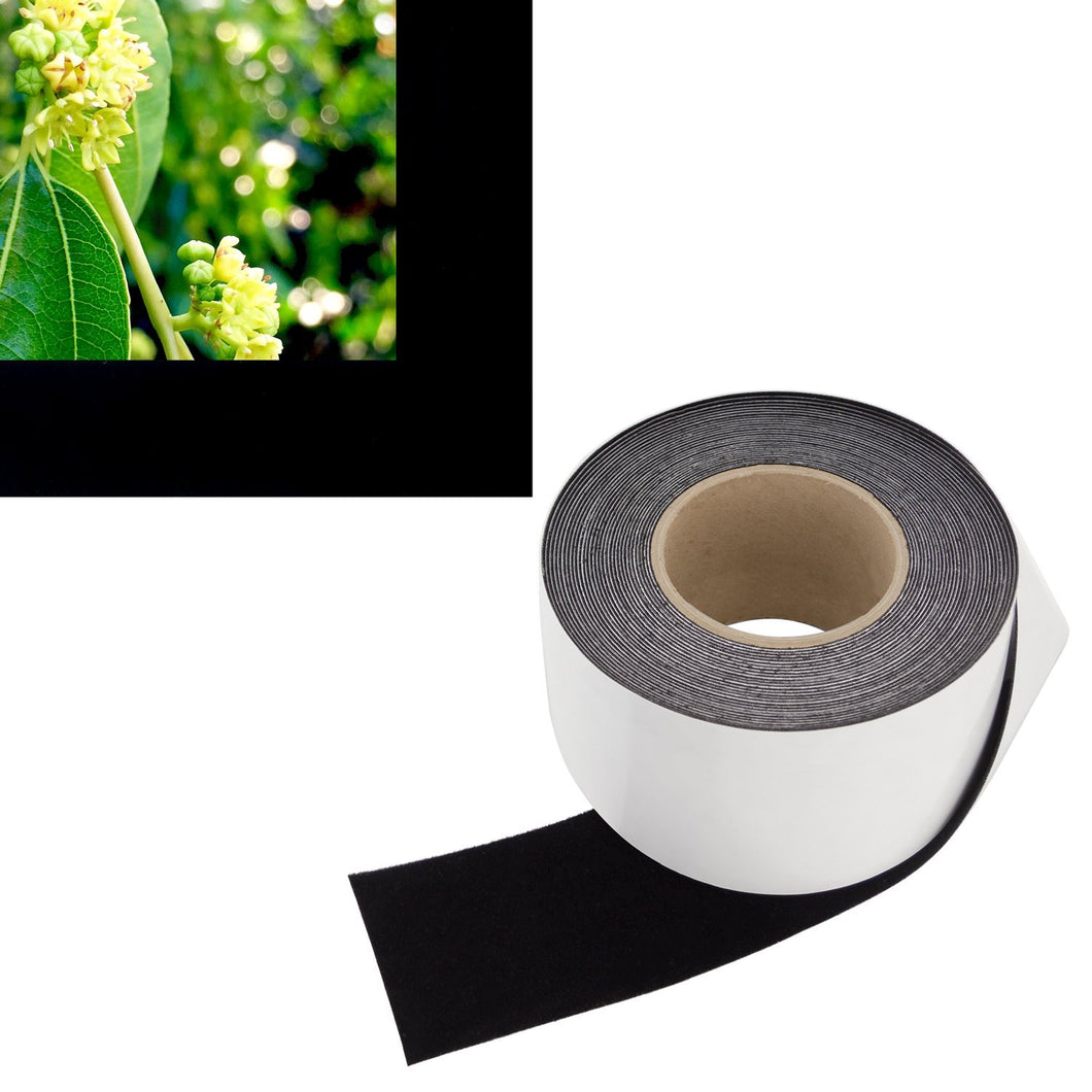 Vibrancy Enhancing Projector Felt Tape Border - 3 in x 60 ft