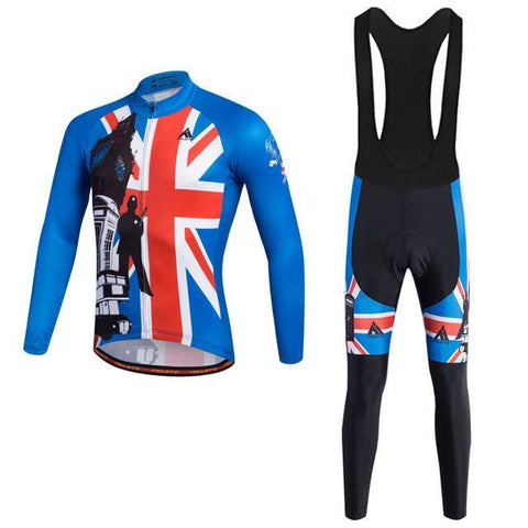 Great Britain Flag Pro Cycling Jersey and Bib Tights-Clothing-Bicycle Racing