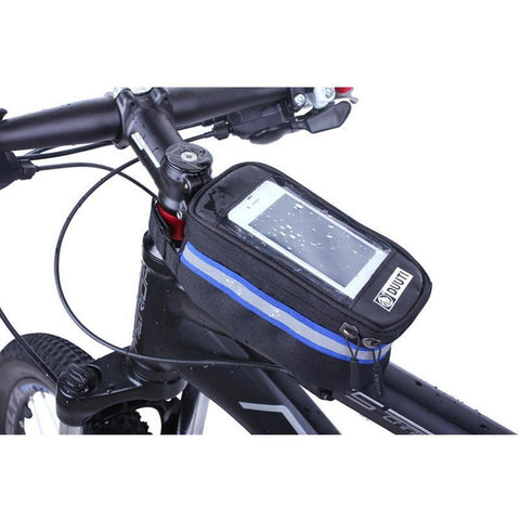 Waterproof/Reflective Bicycle Bag with Smartphone Pocket-Accessories-Bicycle Racing
