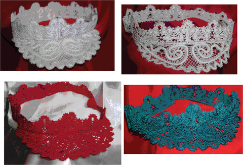 Wedding Embroidered Visor