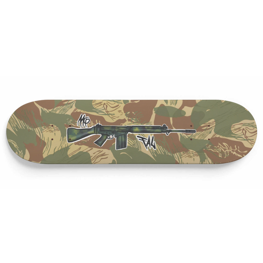 Rhodesian FAL Brush Stroke Deck