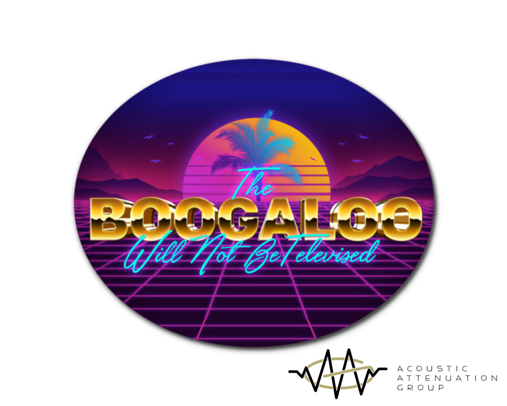 Retro Boogaloo Sticker