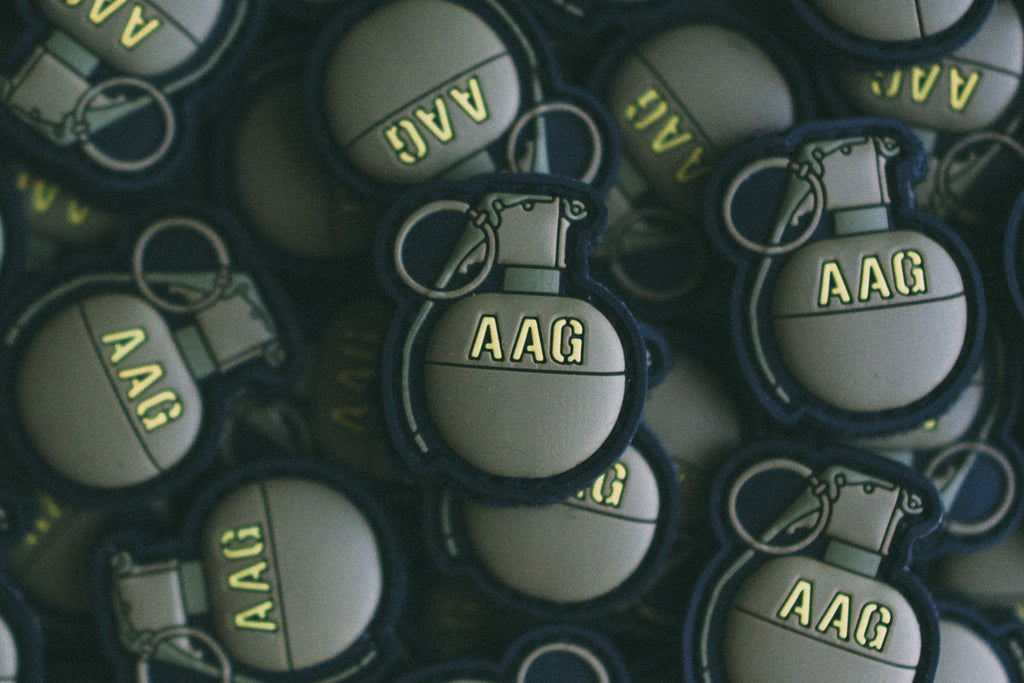 M67 Grenade Velcro Backed PVC Patch