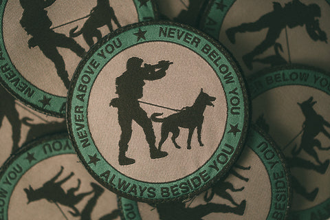 Multicam Never Never Always Velcro Backed Woven Patch