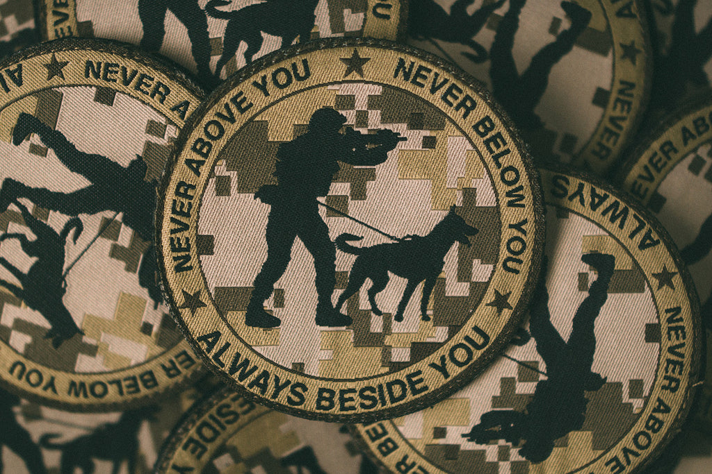 AOR1 Never Never Always Velcro Backed Woven Patch