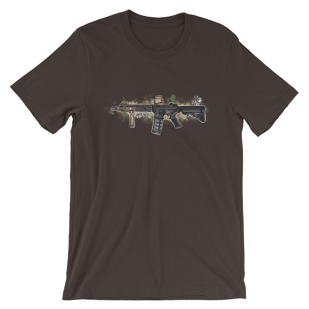 MK18 BlockII Graffiti (MC) Short-Sleeve Unisex T-Shirt