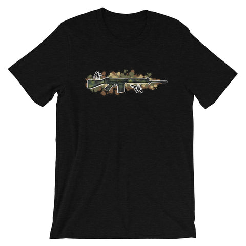 FAL Graffiti (Brush Stroke) Short-Sleeve Unisex T-Shirt