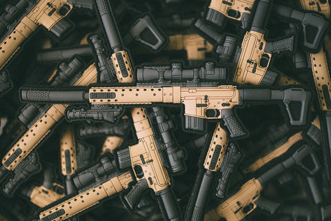 FDE MK12 ModH Velcro Backed PVC Patch