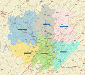 RealZips GeoData - Birmingham Alabama Neighborhoods - by Zip